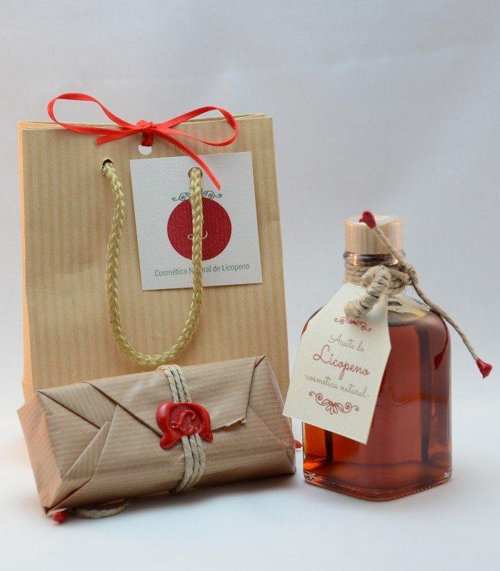 Lycolé - Kit artesanal para regalos muy especiales - Cosmética Natural de Licopeno