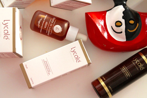 Productos de cosmética Lycolé, con menina - Cosmética Natural de Licopeno